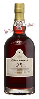 GRAHAM'S 20 YEAR TAWNY PORT