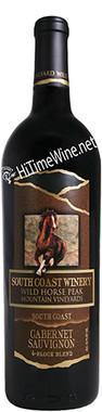 "SOUTH COAST 2014 CABERNET SAUVIGNON ""WILD HORSE PEAK"" SOUTH COAST 750mL"