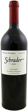 """SCHRADER 2018 CABERNET SAUVIGNON """"RBS"""" NAPA VALLEY 750mL"""