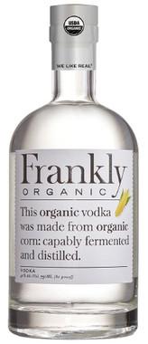 FRANKLY ORGANIC VODKA 750ml