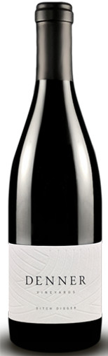 """DENNER 2018 PROPRIETARY RED """"DITCH DIGGER"""" PASO ROBLES 750mL"""