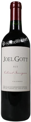 "JOEL GOTT CABERNET SAUVIGNON ""#815"" CALIFORNIA 750mL"