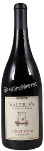 VALERIE'S VINEYARD 17 PN VALS ONE ACRE PN VINYRD CARNEROS SNOM (last 5 bottles)