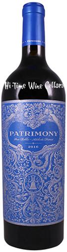 PATRIMONY 2016 CABERNET SAUVIGNON ESTATE PASO ROBLES 750mL