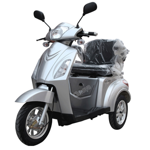 "Model  SuperNova - Silver Weight Capacity  350Lbs.  Speed:  Up to 18mph  Distance:  43 miles per charge (distance varies on terrain, riders weight and road surface etc.)  Turning Radius: 50""  Basket Dimensions: 10""x17""x9"" (LxWxH)  Steering Height: 40"" from Ground  Power: Electric  Watts: 500 Watt  Motor Type: Transaxle differential brushless  Amps: 20 AH  Volts: 60 Volts  Dimensions:  61"" x 27"" x 53 ½"" (LxWxH)  Floor Clearance: 6""  Front Basket: None  Batteries: (4) Sealed Lead Acid Maintenance Free  Forward/Reverse switch: Yes  High/ Low Speed switch:  Adjustable Speed Knob / Rheo-Stat  Front tire size: 16"" x 2.125""  Rear tire size: 16"" x 2.125""  Charger: 60-volt Smart Charger included  Throttle Type: Variable Speed Control – Twist throttle  Key Start: Yes  Braking System: Front and Rear drum brakes  Drive System: 500 Watt Brushless Motor  Headlight: Yes Rear lights: Yes Turn Signals: Yes  Scooter Weight: 219lbs. with batteries  Battery Indicator: Yes  Front: Front Shock Absorbers  Rear: Rear Shock Absorbers   Warranty: Limited – 1 Year Warranty"