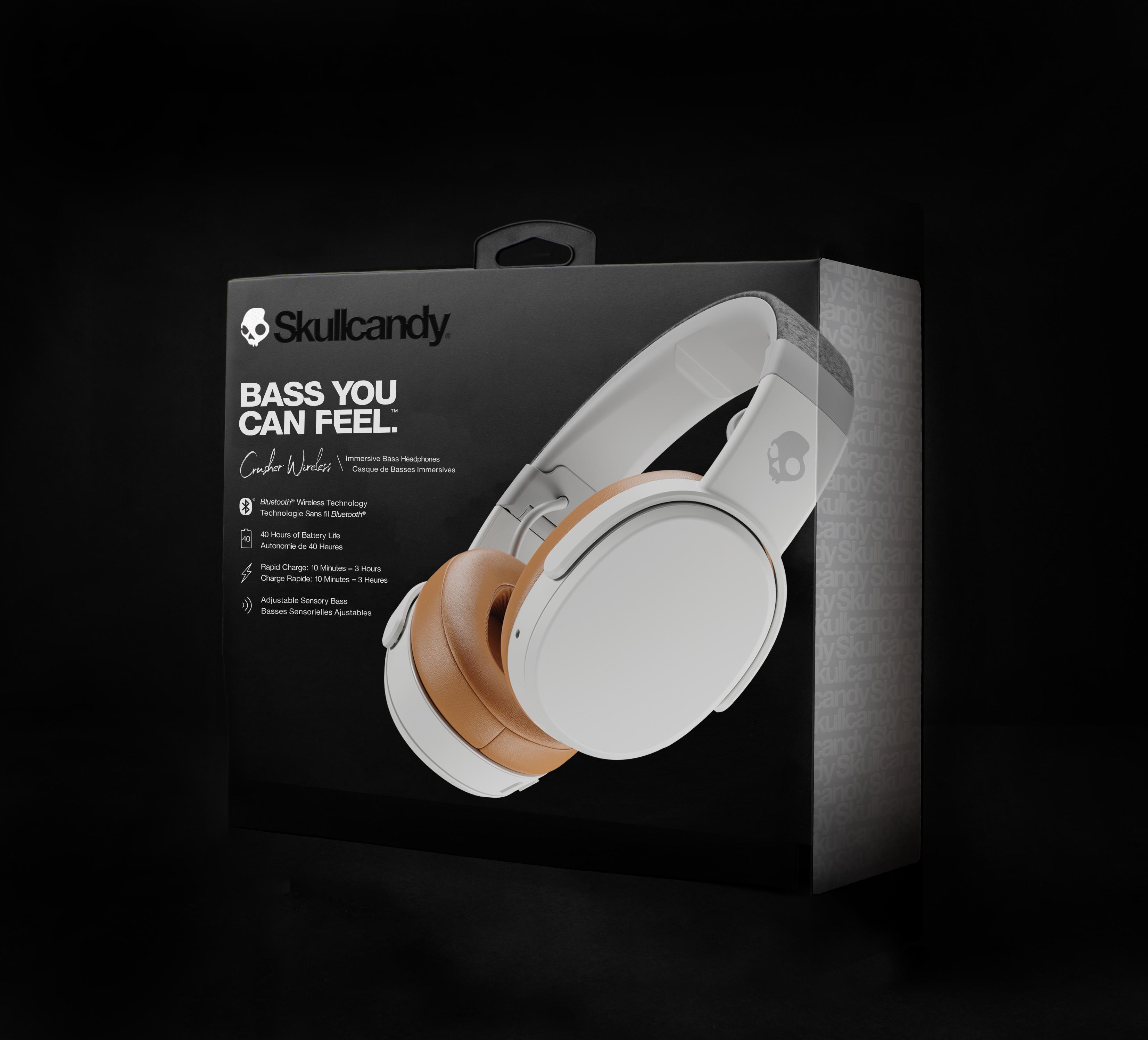 Crusher Wireless Immersive Bass Headphone