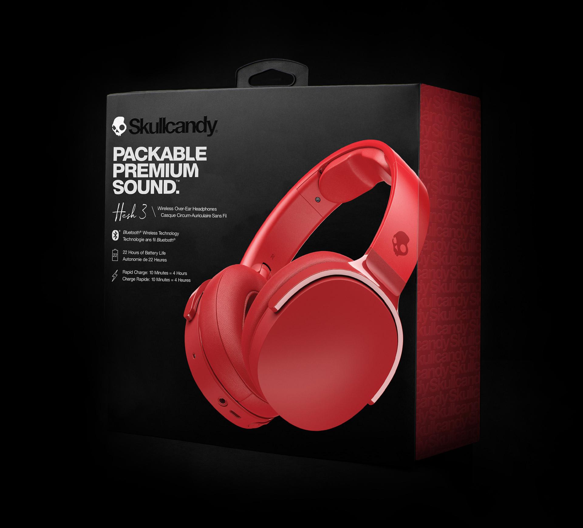 tijeras prioridad Duquesa  HESH 3 Wireless Headphones - Free Delivery | Skullcandy