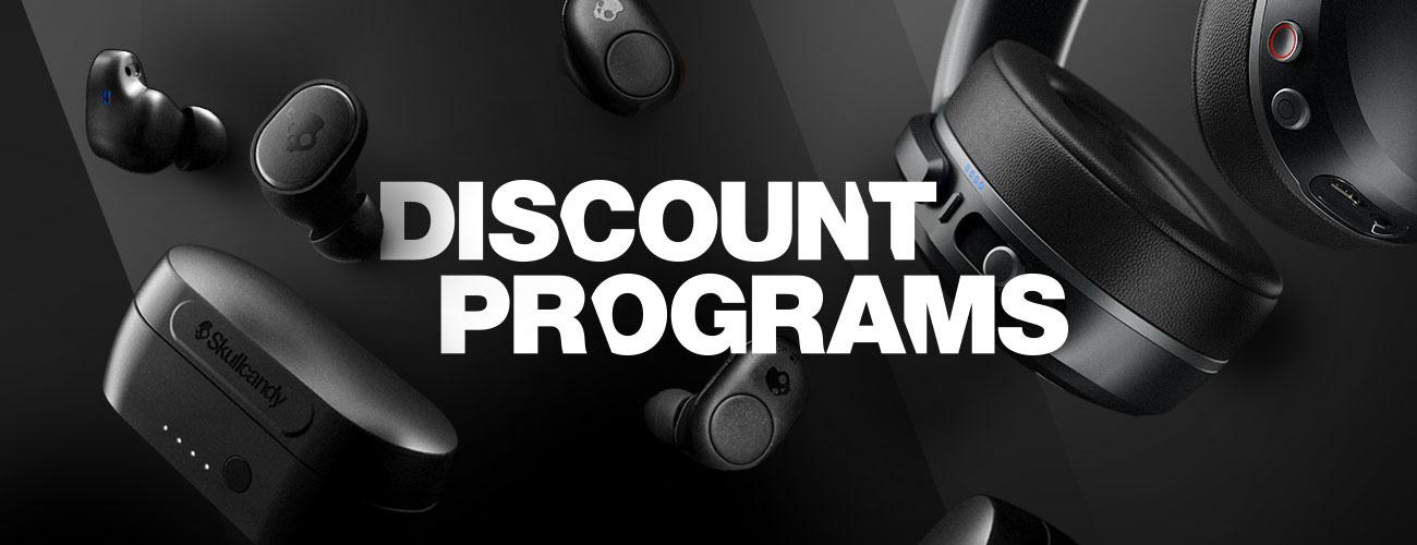 Skullcandy Discount Programs