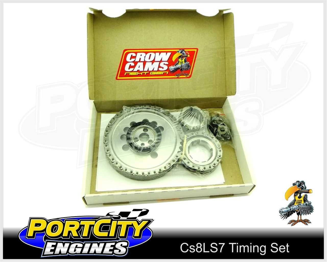 Timing Set for Holden Chev V8 LS3 6 2L LS7 7 0L 3 Bolt Double Row Chain  CS8LS7