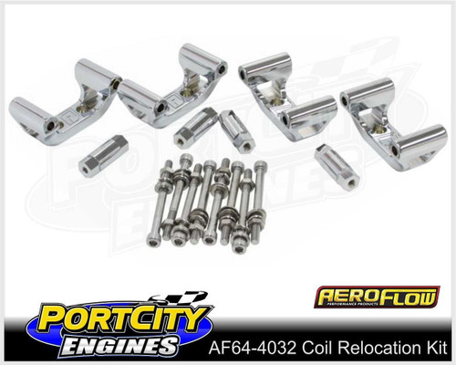 Aeroflow Alloy Coil Relocation Mounts for Holden Chev V8 LS1 LS6 AF64-4032