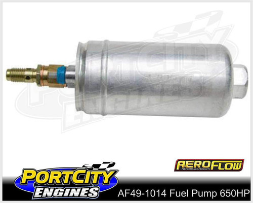 Aeroflow EFI Electric in Tank or External Fuel Pump 650HP AF49-1014