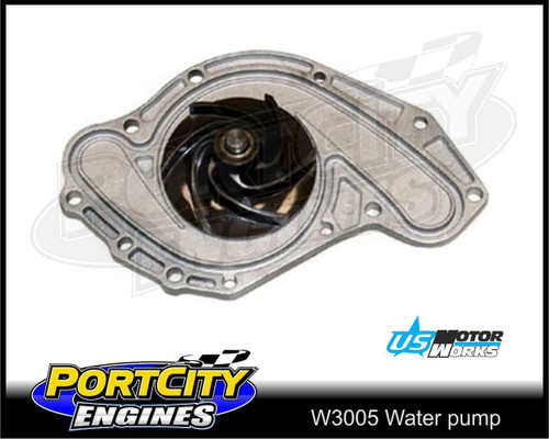US Motor Works Water pump for Chrysler V6 300C 3.5L EGG W3005