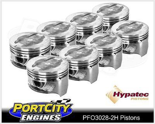Hypatec Piston set Ford V8 Falcon Fairlane 289 302 Windsor Dish Top PFO30280002H