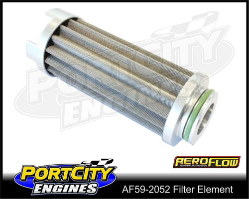 Aeroflow 60 Micron Replacement Stainless Steel Fuel Filter Element AF59-2052