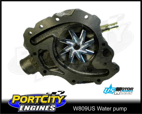 Water Pump Ford V8 Falcon Fairlane LTD Bronco F-Series 302 351 Cleveland W809US