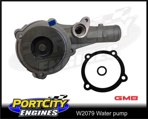 GMB Water pump for Ford BA BF FG Territory SX SY 11/2003-on w/o pulley W2079