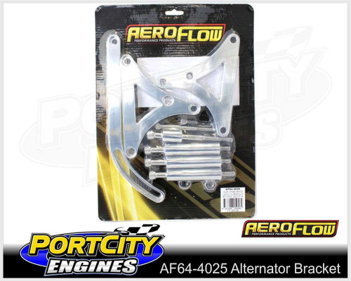 Aeroflow Alloy Alternator Bracket Holden V8 253 308 Passenger Side AF64-4025