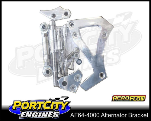 Aeroflow Alloy Alternator Bracket for Ford V8 302 351C mid Mount AF64-4000
