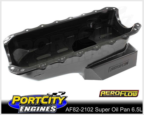 Aeroflow Super Oil Pan 6.5L for Holden V8 253 308 304 5.0L Commodore AF82-2102