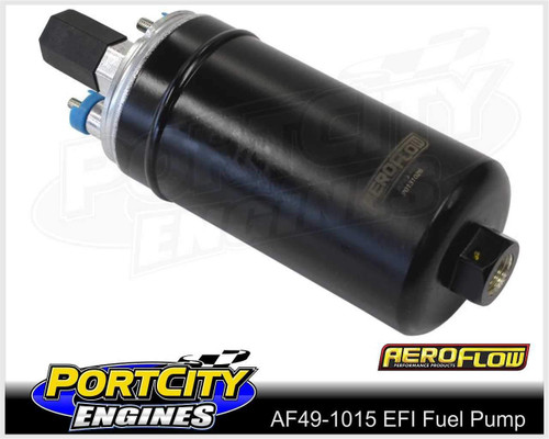 Aeroflow EFI Electric In Tank or External Fuel Pump 625HP 175lph AF49-1015