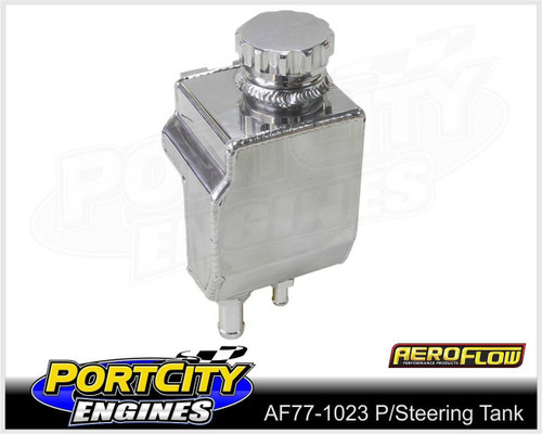 Aeroflow Alloy Fabricated Power Steering Tank Ford V8 BA BF AF77-1023