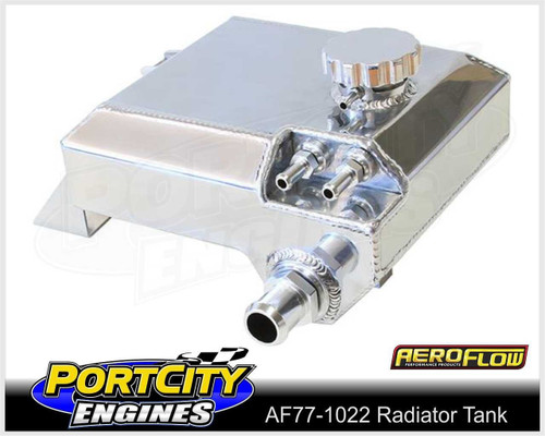 Aeroflow Alloy Fabricated Radiator Overflow Tank for Ford BA BF AF77-1022