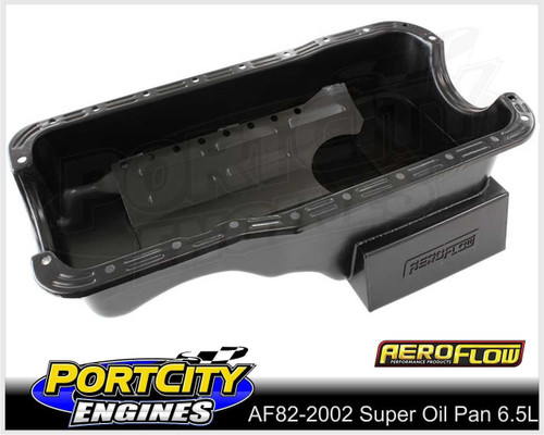 Aeroflow Super Oil Pan 6.5L Ford V8 XT XY XW XD XE 289 302 Windsor AF82-2002