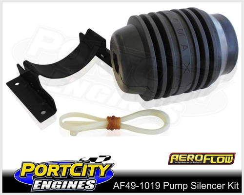 Aeroflow External Mount EFI Fuel Pump Silencer Kit AF49-1019