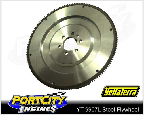 Lightweight Steel Flywheel for Chev V8 SB Vortec Counter Balance 11.3kg YT9907L