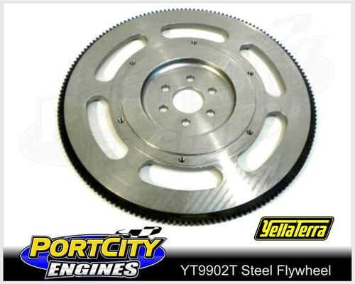 "Lightweight Flywheel Ford V8 302 351 Cleveland with Tilton 7 ¼"" Clutch YT9902T"