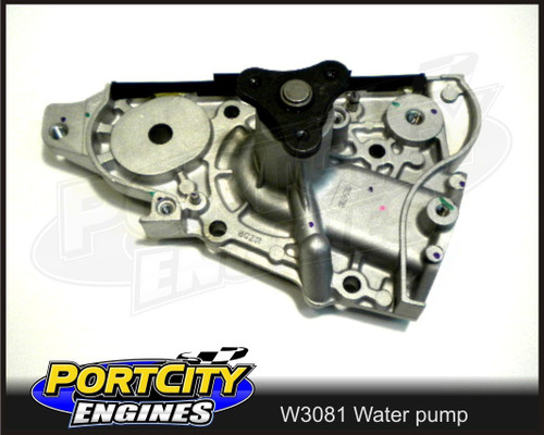 GMB Water Pump Mazda/Ford Laser 323  BP B6 MX5 BPD 4-CYL SOHC 1.6L 1.8L W3081