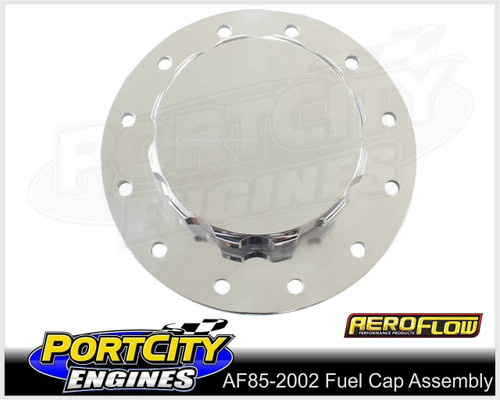 Aeroflow Alloy Screw On Fuel Cap Assembly for Aeroflow Fuel Cells AF85-2002