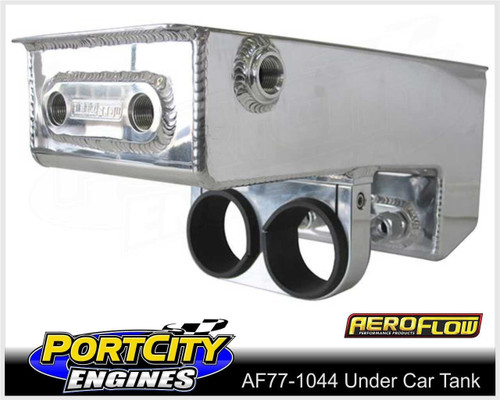 "Aeroflow Alloy Dual EFI Pump Under Car Surge Tank 4.75L 15"" AF77-1044"