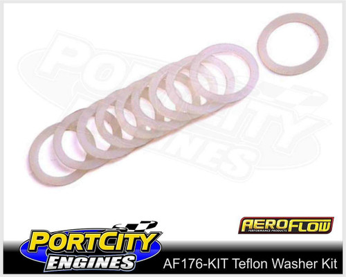 Aeroflow Teflon Washer Kit -3AN to -16AN AF176-KIT
