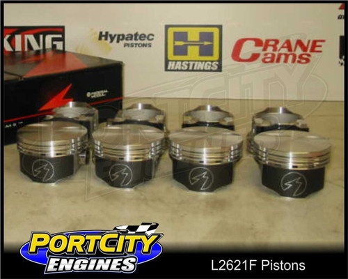 L2621F Forged Pistons for Holden Chevy 5.7L V8 LS1 Gen3 Commodore VT-VX-VY-VZ