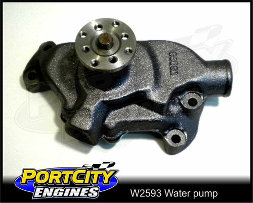 Short Water Pump Small Block Chev V8 283 305 307 327 350 400 cast iron W2593