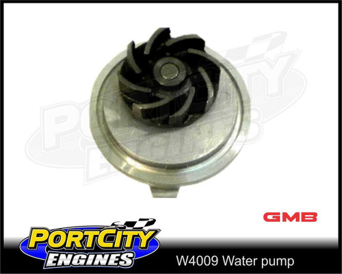 GMB Water Pump for Holden, Daewoo, Opel engines - 1.8L, 2.0L, 2.2L, 2.4L - W4009