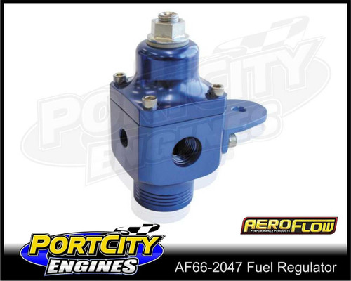 Aeroflow Adjustable Carby Fuel Pressure Regulator 750HP 4 – 12 psi AF66-2047
