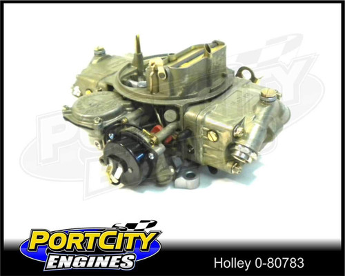 Holley 650 CFM 4brl Vac Secondary Street Carburetor with Electric Choke HY0-80783