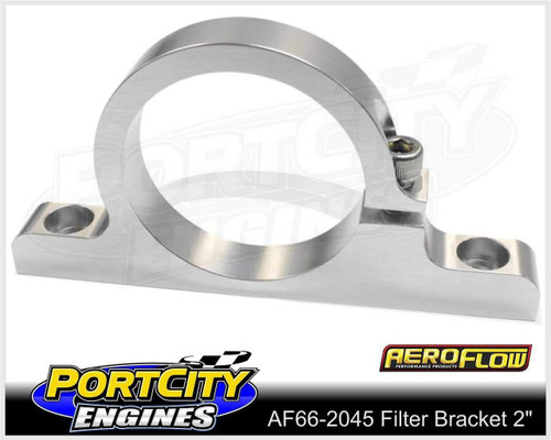 "Aeroflow Alloy Single Filter Bracket suit 2"" Filter Remote Reservoir AF66-2045"