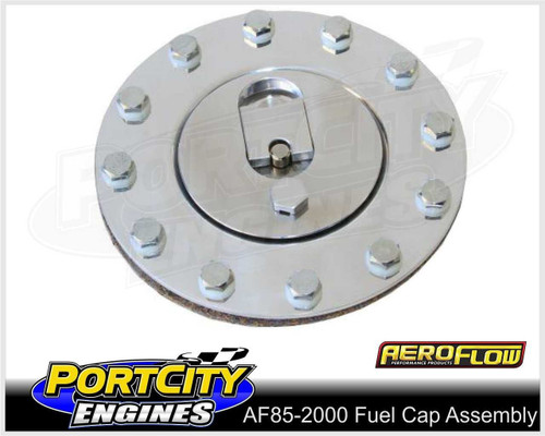 Aeroflow Alloy Fuel Cap Assembly for Aeroflow Fuel Cells AF85-2000
