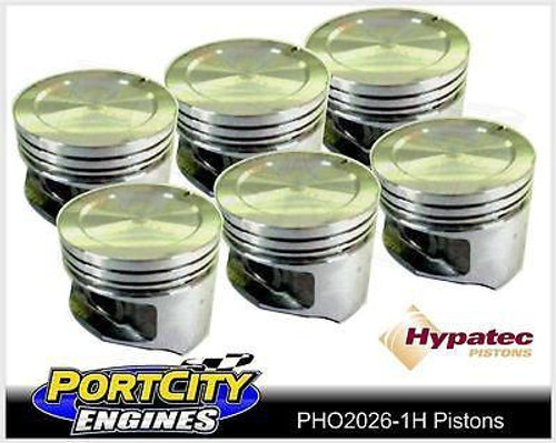 Hypatec Piston set for Holden 6 cyl 202 Kingswood Commodore Torana PHO20260001H