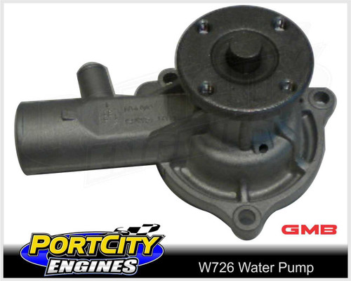 GMB Water Pump for Holden 6cyl 161 186 202 Red HT HG HJ HQ HZ Large Hub W726