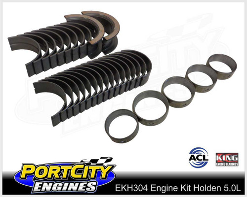 Main, Big-End & Camshaft bearings for Holden V8 304