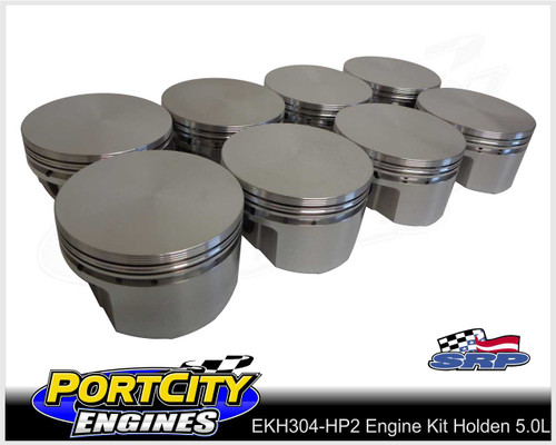 SRP Forged flat top pistons