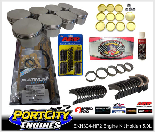 Holden 304/5.0L HP2 series Engine rebuild kit