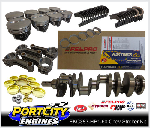 "Chev 383 Stroker kit with 6.0"" conrods"