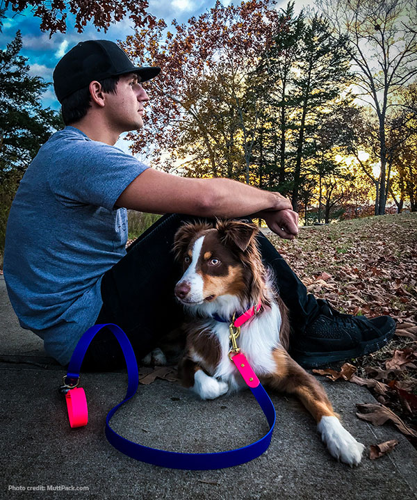 Biothane for pet collars and leads
