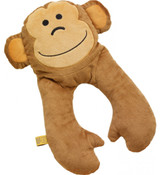 Monkey Flat Neck Pillow