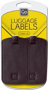 Luggage Labels (Black)